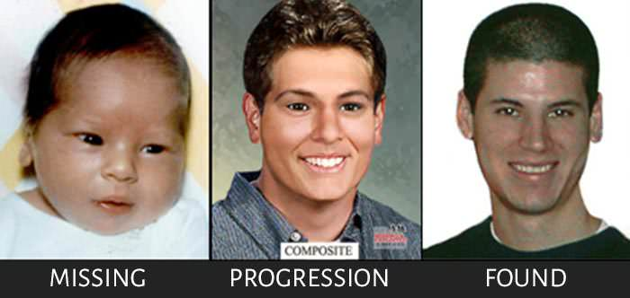 Kidnapped Aric Austin age progression