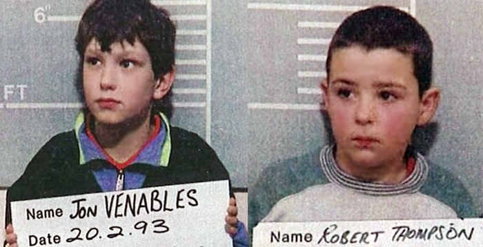 Kids who kill: Jon Venables and Robert Thompson