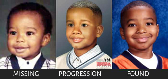 Kidnapped Joseph Carson age progression