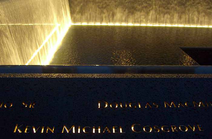 Cosgrove's name is located on Panel S-60 of the National September 11 Memorial's South Pool.