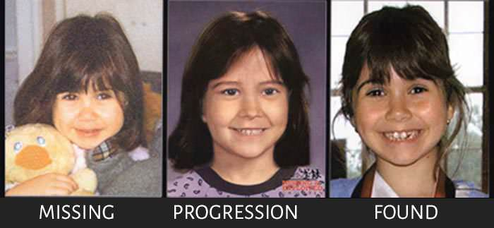 Kidnapped Sara Eghbal Brin age progression