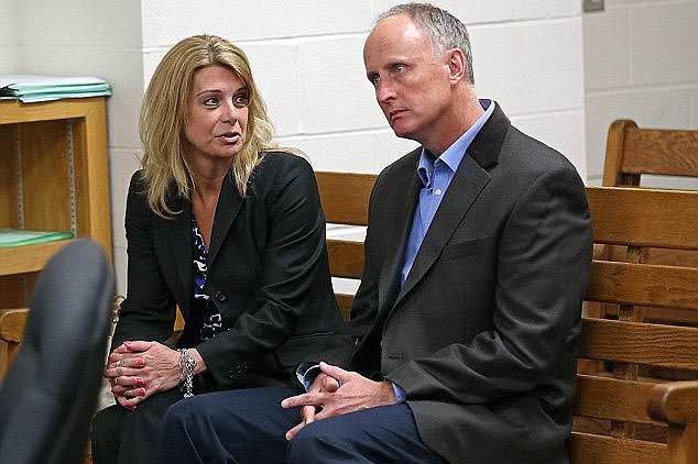 Michelle Carter and Conrad Roy