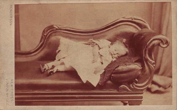 Victorian Post Mortem Photography