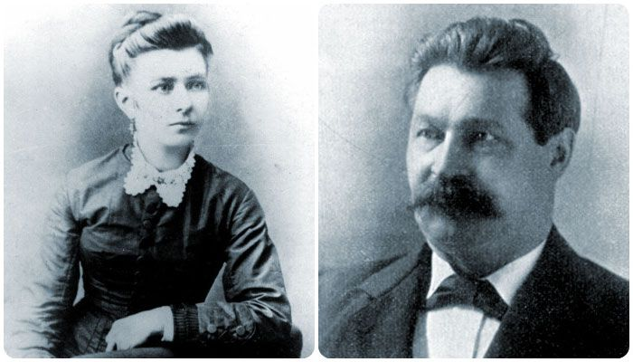 Adolph Luetgert and Louise Luetgert