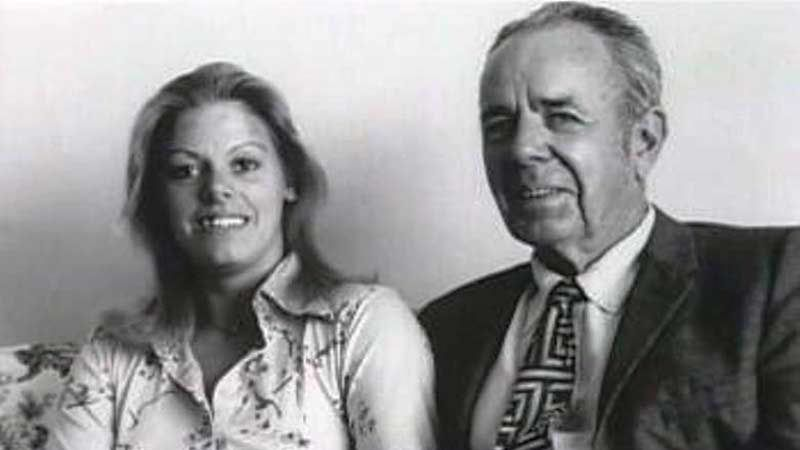 Aileen Wuornos with her husband Lewis Fell.