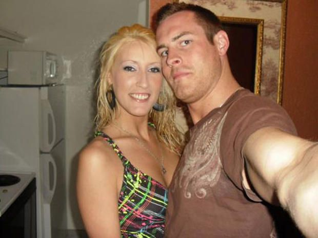 Amanda Logue and Jason Andrews