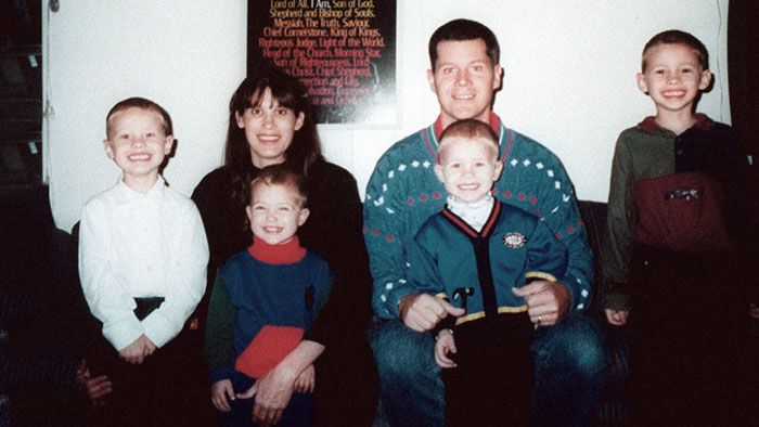 Andrea Yates and her family