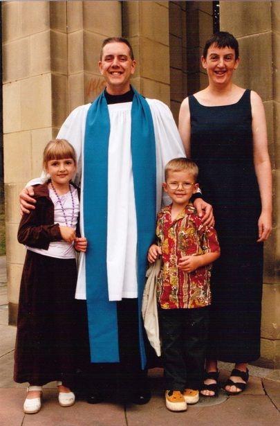 Andrew Gosden's family
