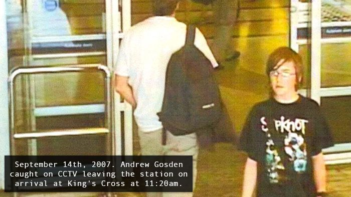 The haunting and unexplained Disappearance of 14-year-old Andrew Gosden