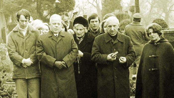 The funeral of Anneliese Michel