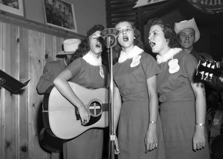 Austin vintage folk music scene