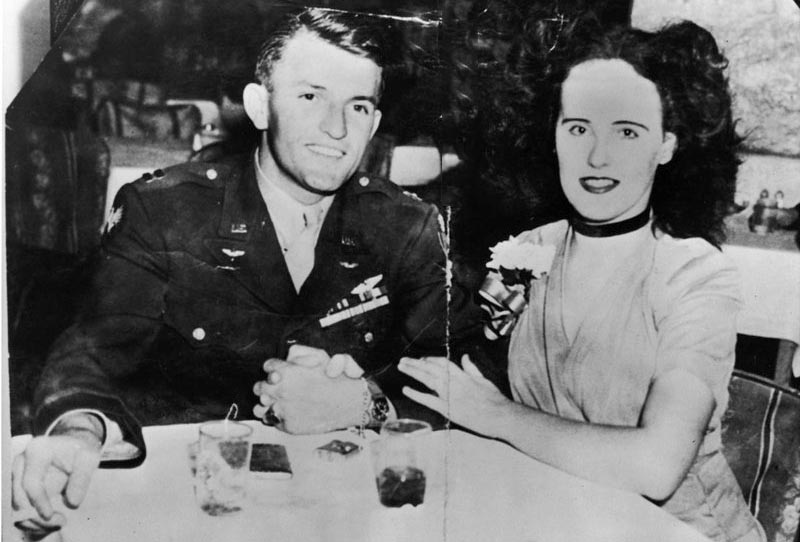 Black Dahlia aka. Elizabeth Short and Major Matthew M. Gordon Jr
