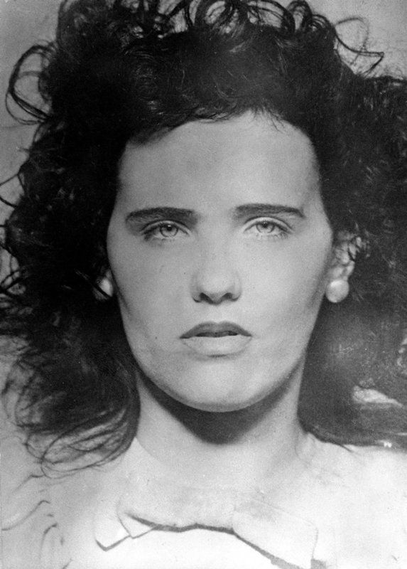 Mugshot of Black Dahlia aka. Elizabeth Short