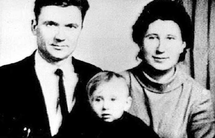 Andrei Chikatilo and his family