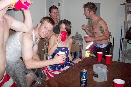 Casey Antony partying
