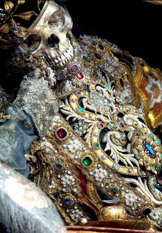 Catacomb Saints: Skeletons from the Catacombs of Rome
