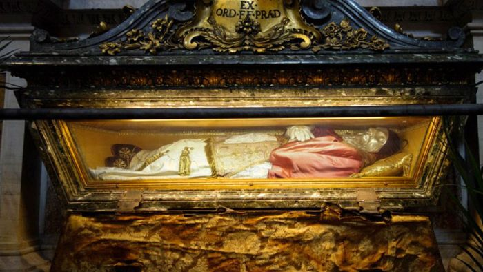 Catholic incorruptible preserved saints