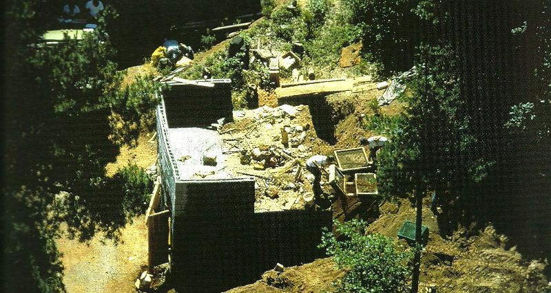 The bunker of Charles Ng & Leonard Lake (crime scene photo)