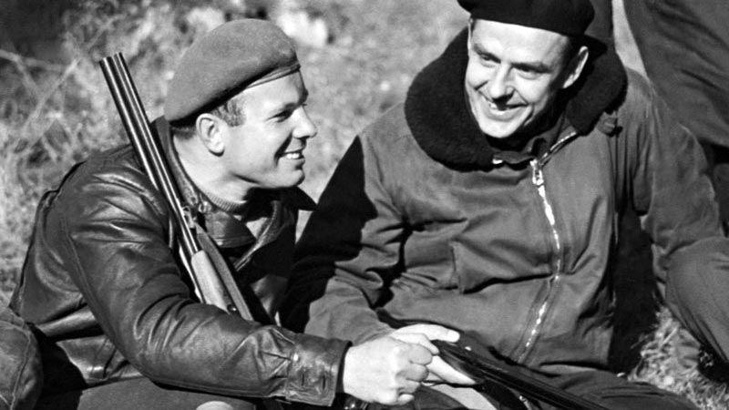 Vladimir Komarov and Juri Gagarin