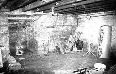 The basement of Fred West