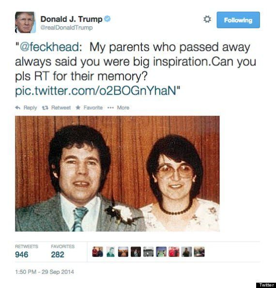 Donald Trump Twitter Prank
