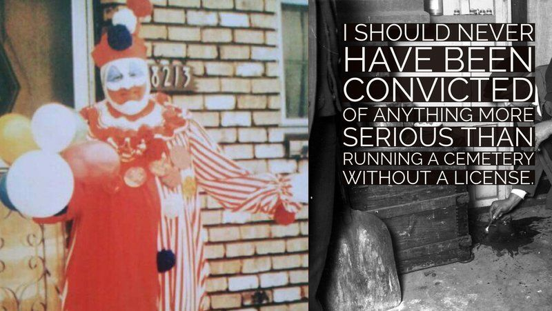 John 'Pogo the Clown' Wayne Gacy.