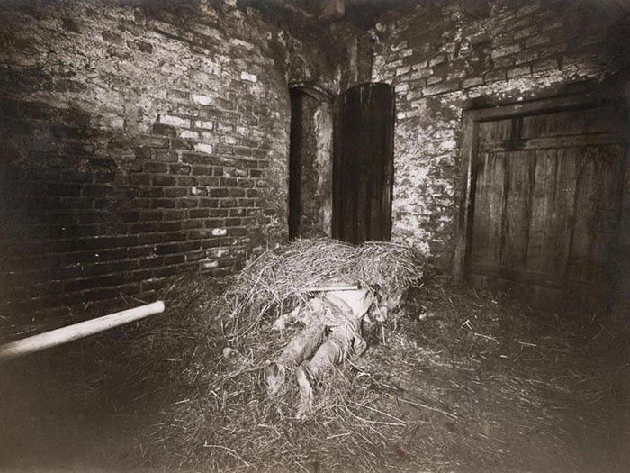 The Hinterkaifeck Axe Murders crime scene