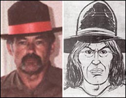 The sketch of Ivan Milat