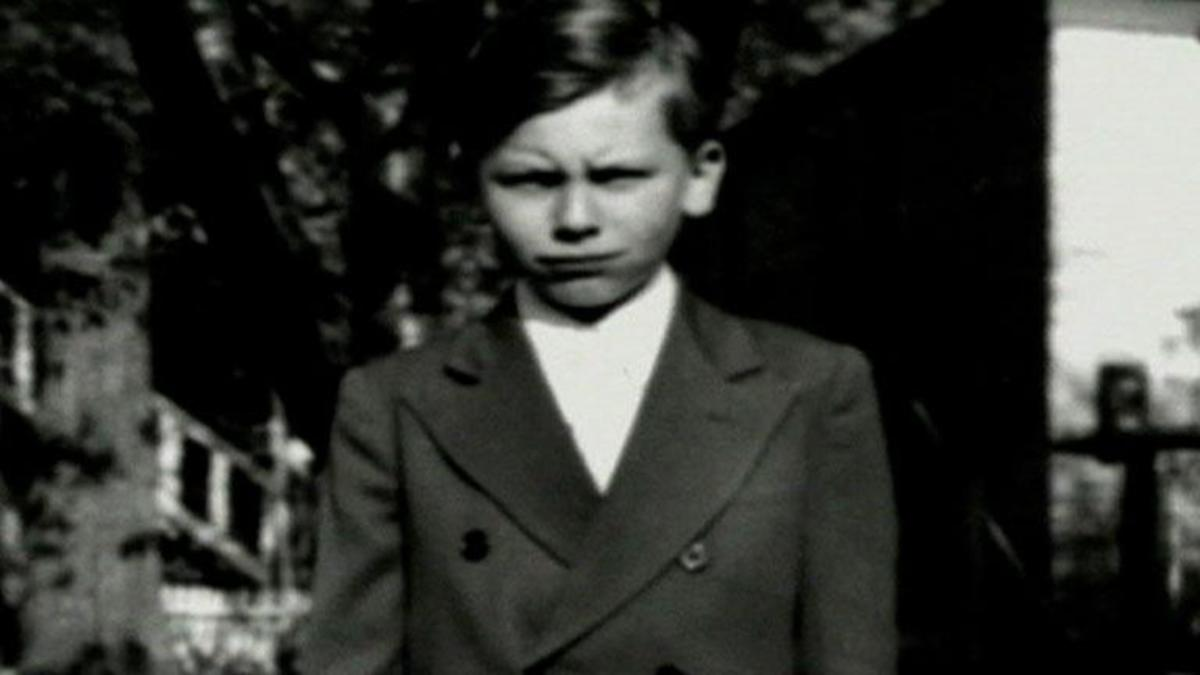 John Wayne Gacy as a child.