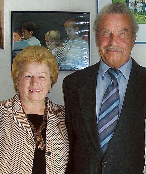 Wife Rosemarie and Josef Fritz – The Austrian Cellar Monster.
