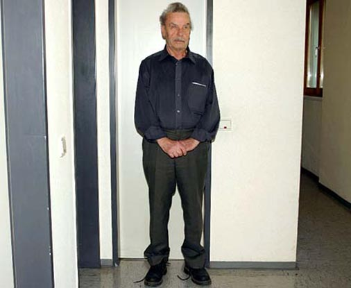 The mugshot: Josef Fritzl, The Austrian Monster