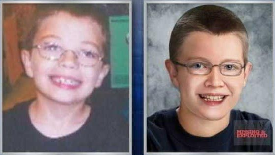 The age progression photo of Kyron Horman