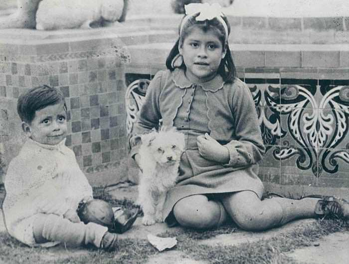 The youngest mother in history Lina Medina with her son Gerardo