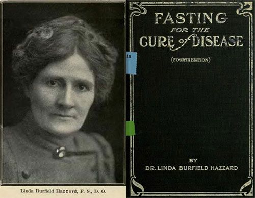 Linda Hazzard and her Book Fasting For The Cure Of Disease
