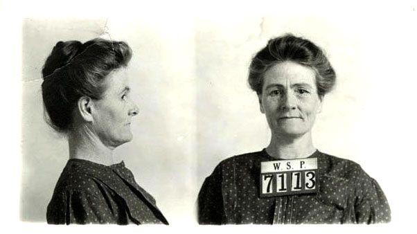 Mugshot of Linda Burfield Hazzard