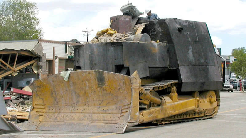 Marvin Heemeyer's bulldozer also know and killdozer