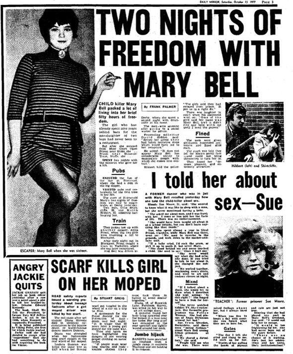 Mary Bell newspaper