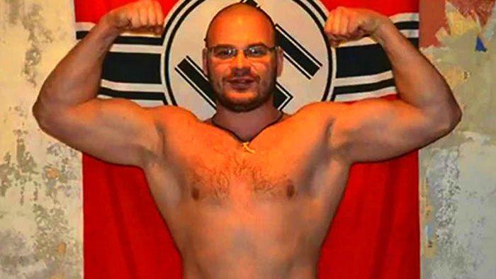 Russian Celebrity Nazi and Gay-basher Tesak