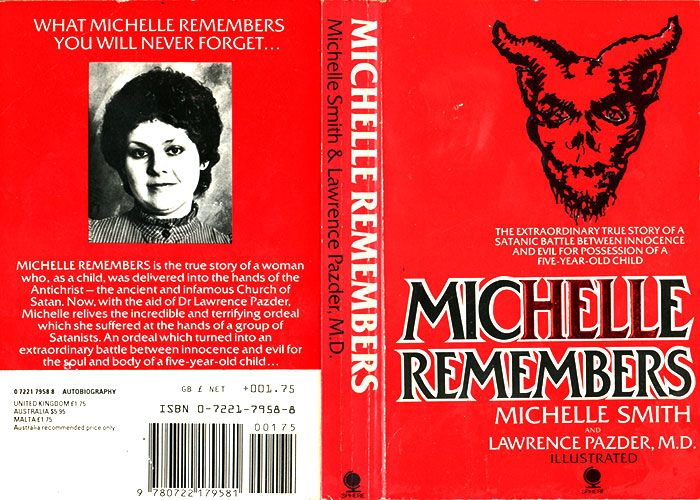 The book cover of Michelle Remember