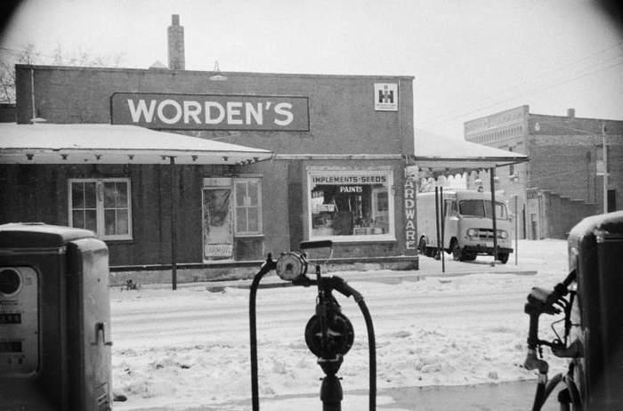 Bernice Worden's hardware store