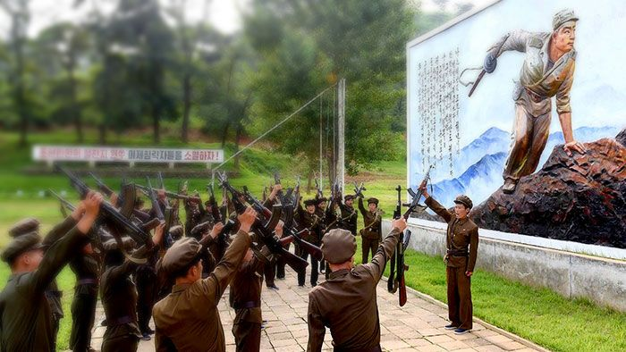 Morbid illustrations of a North Korean Concentration Camp