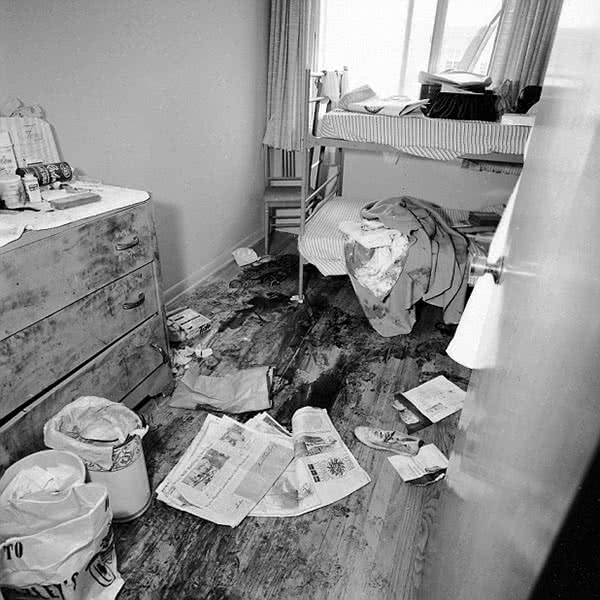 Richard Speck's crime scene.