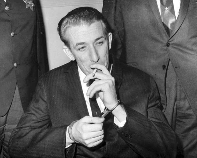 Richard Speck on his trial.