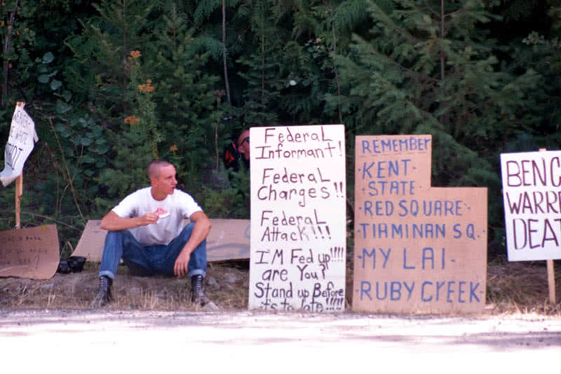 Ruby Ridge skinheads