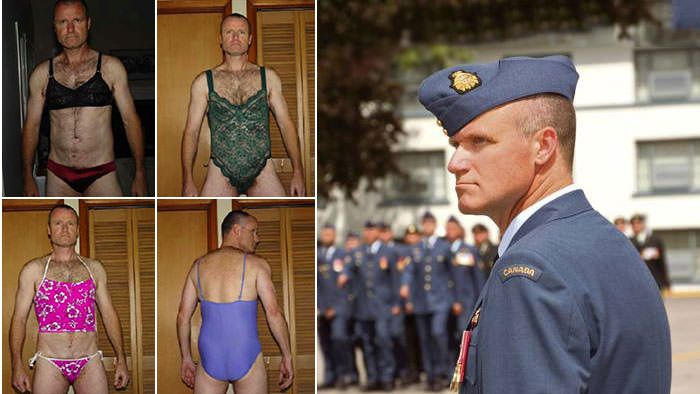 A Canadian Air Colonel With an Urge for Women's Underwear, Rape and Murder...