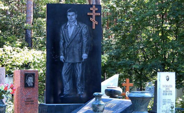 Russian Mafia, thieves in law tombstone