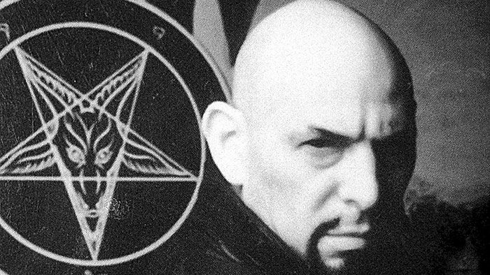 Anton Szandor LaVey, the founder of the Church of Satan and the religion of LaVeyan Satanism
