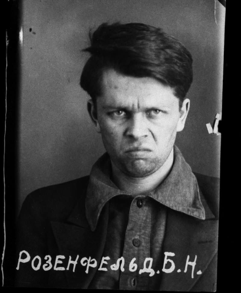 Victim of Stalin's Great Purge Boris Nikolayevich Rozenfeld