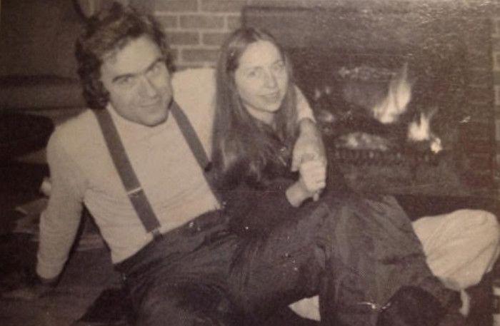 Ted Bundy with a long-term girlfriend, Liz Kloepfer