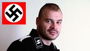 Russian Celebrity Nazi and Gay-basher Tesak